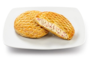 Tortino with Ham and Cheese