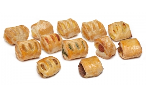 Grilled Puff Pastry Appetizer 12 Flavors