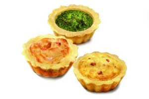 Mini Shortcrust Pastry Quiche